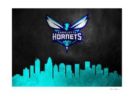 Charlotte Hornets Skyline