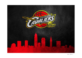 Cleveland Cavaliers Skyline
