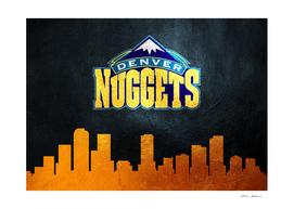 Denver Nuggets Skyline