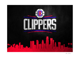 Los Angeles Clippers Skyline