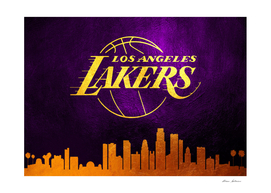 Los Angeles Lakers Skyline