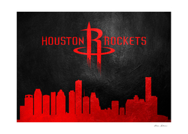 Houston Rockets Skyline