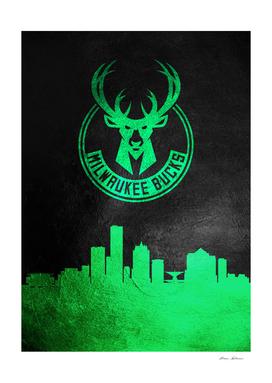 Milwaukee Bucks Skyline