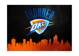 Oklahoma City Thunder Skyline