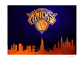 New York Knicks Skyline