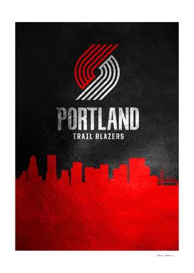 Portland Trail Blazers Skyline
