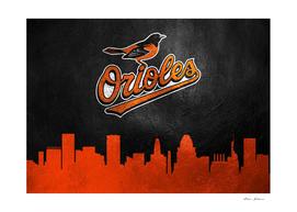 Baltimore Orioles Skyline