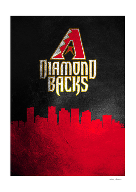 Arizona Diamondbacks Skyline