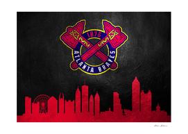 Atlanta Braves Skyline