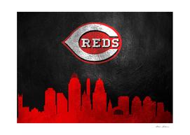 Cincinnati Reds Skyline