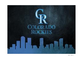 Colorado Rockies Skyline