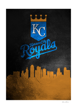 Kansas City Royals Skyline