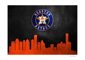 Houston Astros Skyline