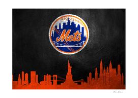 New York Mets Skyline