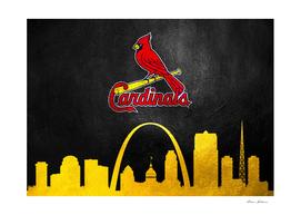 Saint Louis Cardinals Skyline