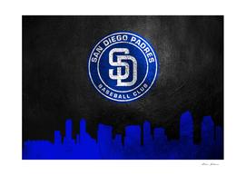 San Diego Padres Skyline