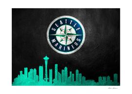 Seattle Mariners Skyline