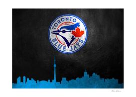 Toronto Blue Jays Skyline