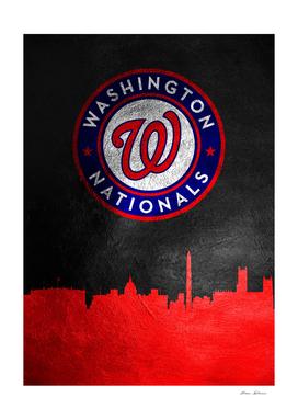Washington Nationals Skyline