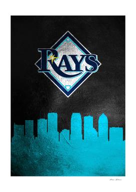 Tampa Bay Rays Skyline