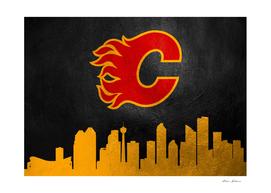 Calgary Flames Skyline