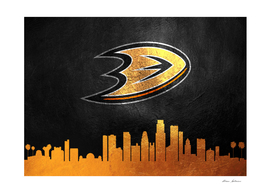 Anaheim Ducks Skyline