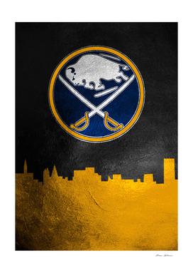Buffalo Sabres Skyline