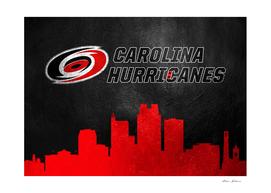 Carolina Hurricanes Skyline