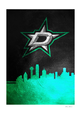 Dallas Stars Skyline