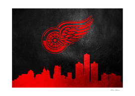 Detroit Red Wings Skyline