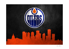 Edmonton Oilers Skyline