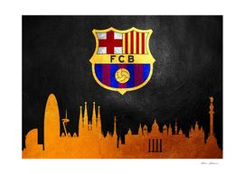FC Barcelona Skyline