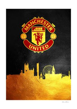 Manchester United Skyline