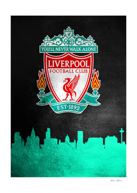 Liverpool FC Skyline