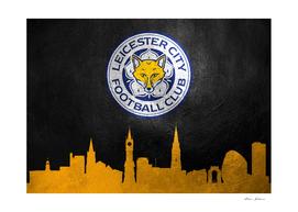 Leicester FC Skyline