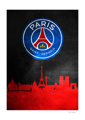 Paris Saint Germain Skyline