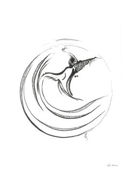 Whirling in prayer