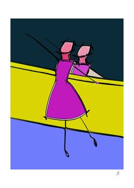ballerina art9997