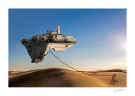 flying island