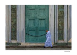 Olivetan Monk in Florence