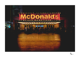 Time Square / Mc Donald's
