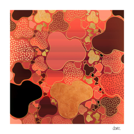 Terracotta Coral Terrazzo