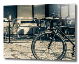 Pure Black Bike
