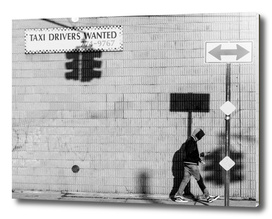 Taxi Drivers Wanted - Street Photography Series