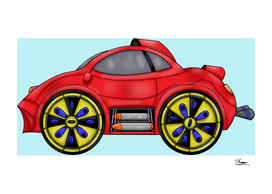 Car with Missiles