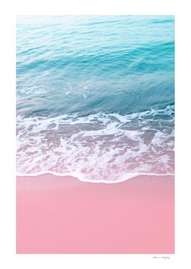 Pink Ocean Beauty Dream #1 #wall #decor #art