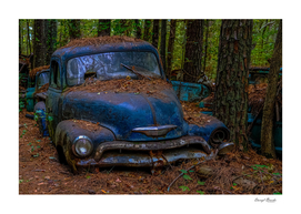 Old Blue Chevy