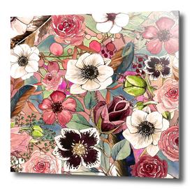 Boho Flowers Pattern