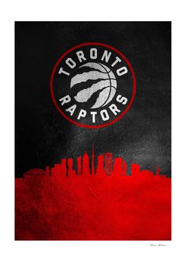 Toronto Raptors Skyline