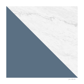 Marble Bluestone Diagonal Color Block